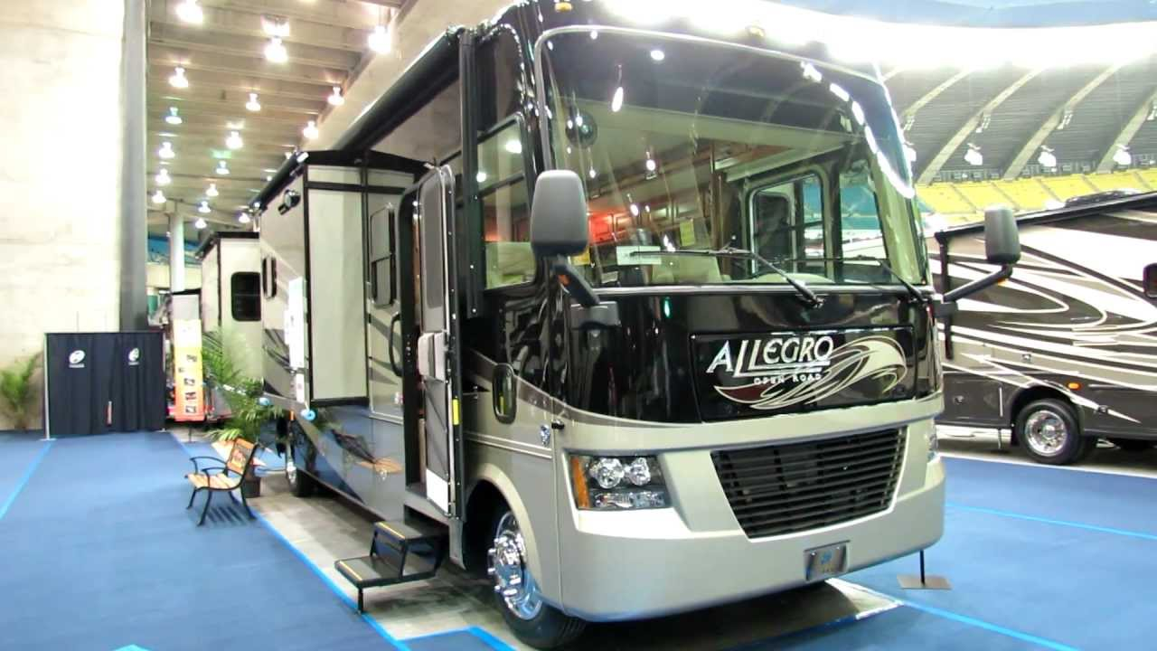 Awesome 2012 Allegro 34TGA MotorHome Exterior And Interior At 2012 Montreal  Recreational Vehicle Show   YouTube