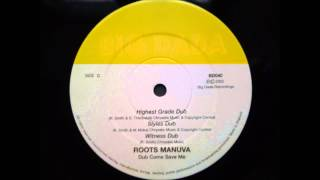 Roots Manuva - Witness Dub