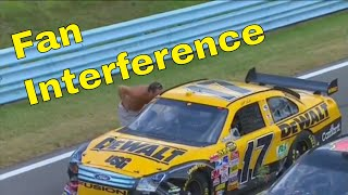Fan Interference in NASCAR