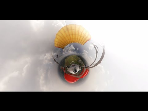 Видео 360: Вингсьют-пилоты