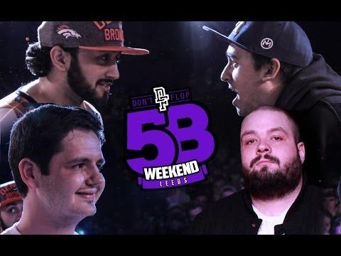 EURGH & CRUGER VS BENDER & LOE PESCI | Don't Flop Rap Battle