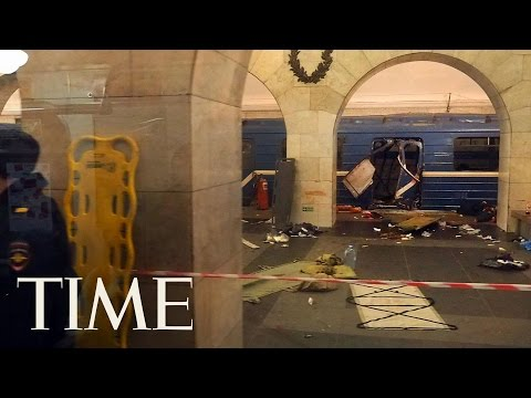 St. Petersburg Subway Explosion: At Least 10 Dead | TIME
