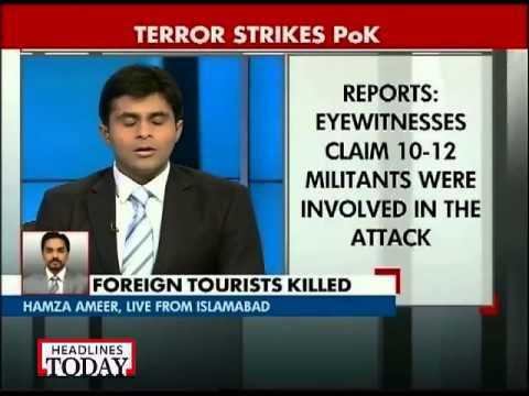 Gunmen kill 11 foreign tourists, their guide in Gilgit of PoK