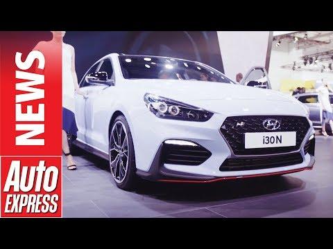 Hyundai i30 N hot hatch lands at Frankfurt with 271bhp - Dauer: 70 Sekunden