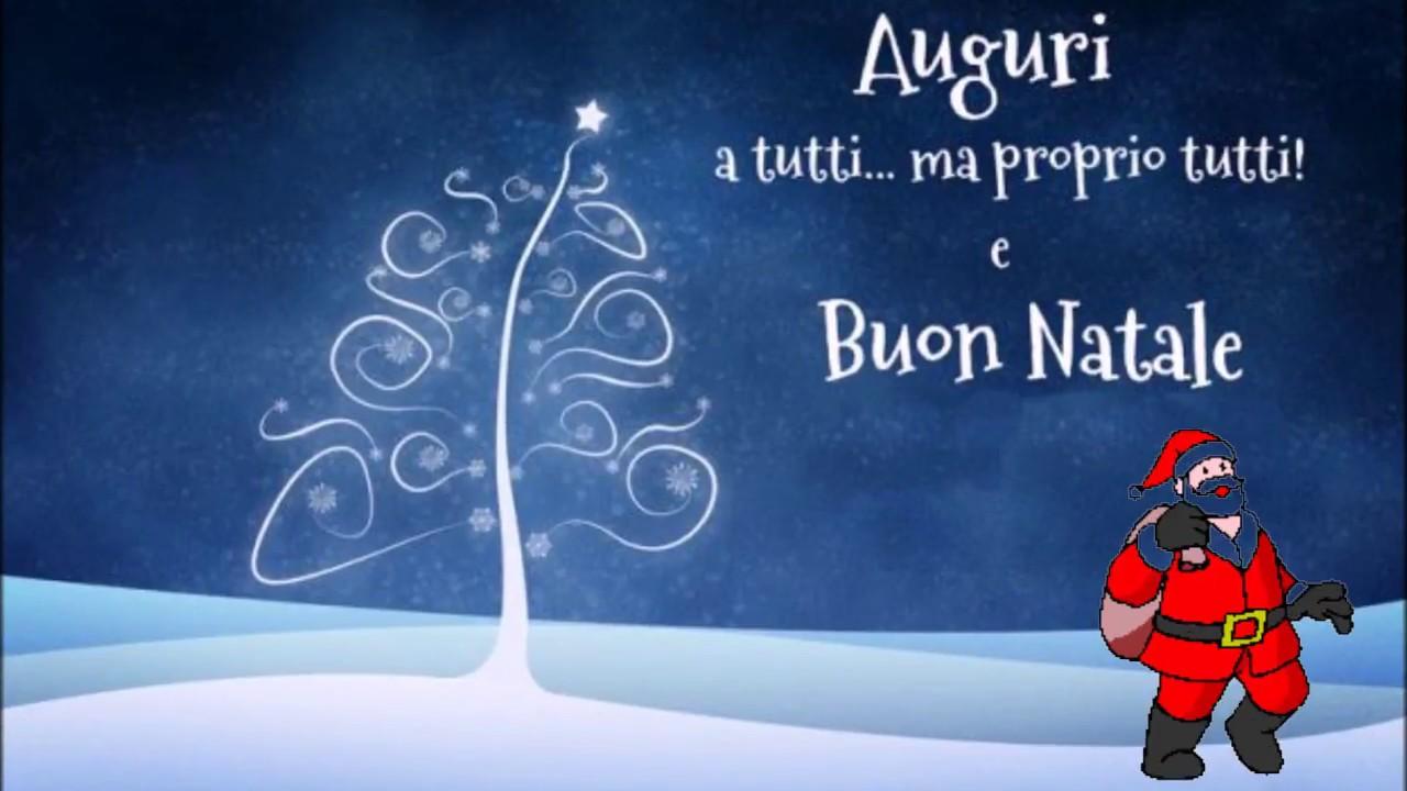 Auguri Di Buon Natale E Felice Anno Nuovo Canzone.Auguri Di Buon Natale E Felice Anno Nuovo Youtube