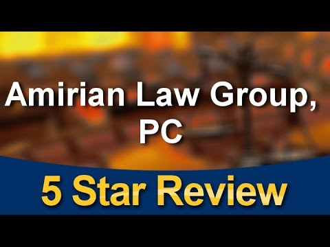 Amirian Law Group, PC Los Angeles Exceptional Five Star Review by Dan F.