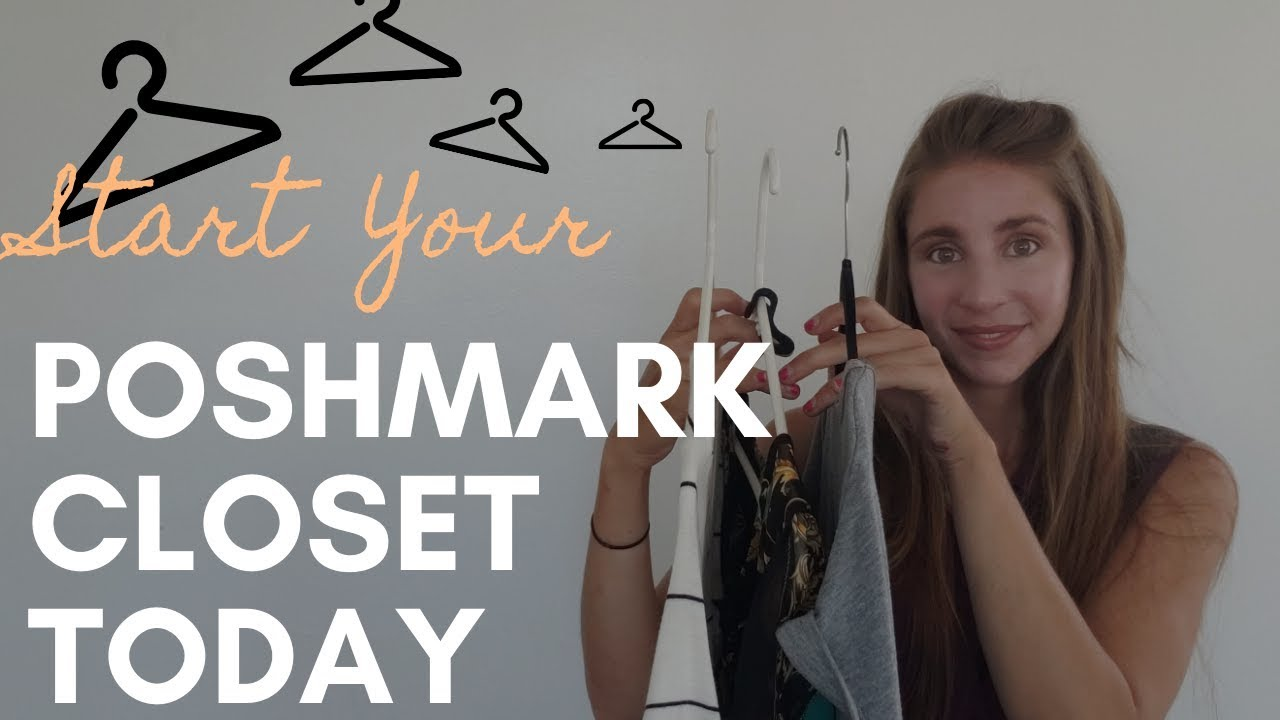How To Start A Poshmark Closet Today | Poshmark For Beginners