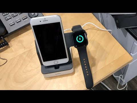 Belkin PowerHouse Charging Dock For Apple Watch + IPhone Mini Review
