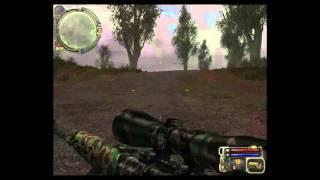 прохождение stalker  snaiper  часть-1