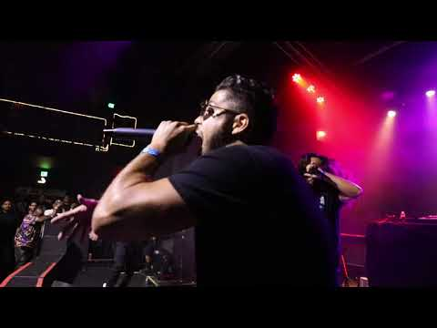 Spit Freely at Observatory opening for KRS-One