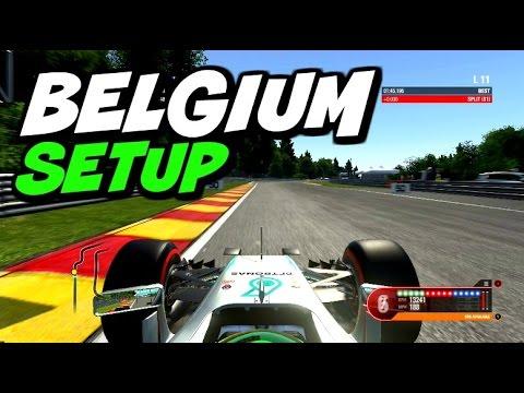 F1 2016 Belgium Hotlap + Setup (1:45.195)