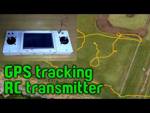 GPS tracking RC transmitter