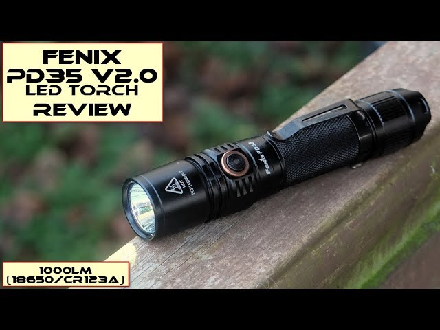 Fenix Pd35 V2 0 Led Torch Review Youtube