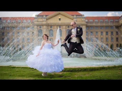 Ivett és Péter kreatív fotózása Debrecenben