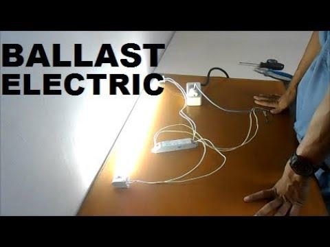 Cara Pasang Lampu Tl Lampu Neon Pakai Ballast Electric Youtube