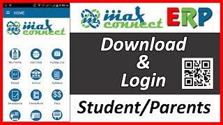 Max Connect Erp Login Parent Student