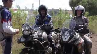 BMW RIDER ACADEMY OFF-ROAD RIDER TRAINING Part 2