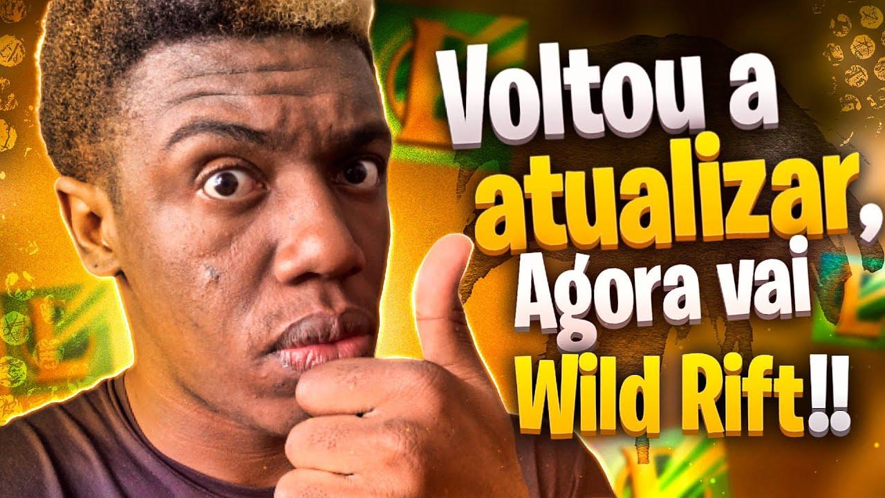 VEJA!  ATT + CONFIGURAÇÃO NO APLICATIVO DO  WIILD RIFT