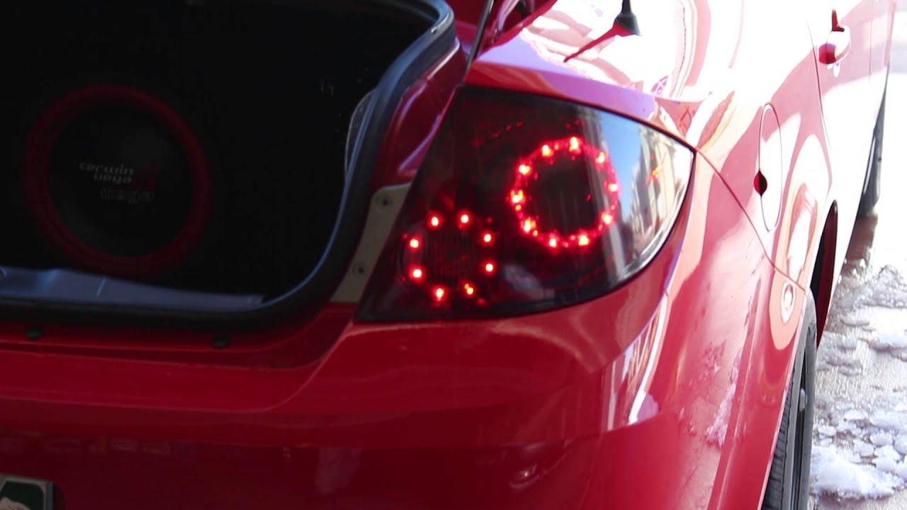 Infinity Style Led Tail Lights Cobalt Sedan