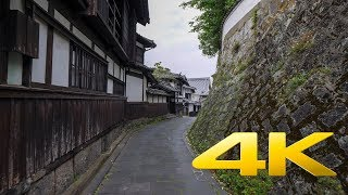 Walking around Nioza Historical Road - Oita - 二王座歴史の道 - 4K Ultra HD