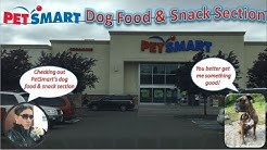 PetSmart Dog Food & Snack Section