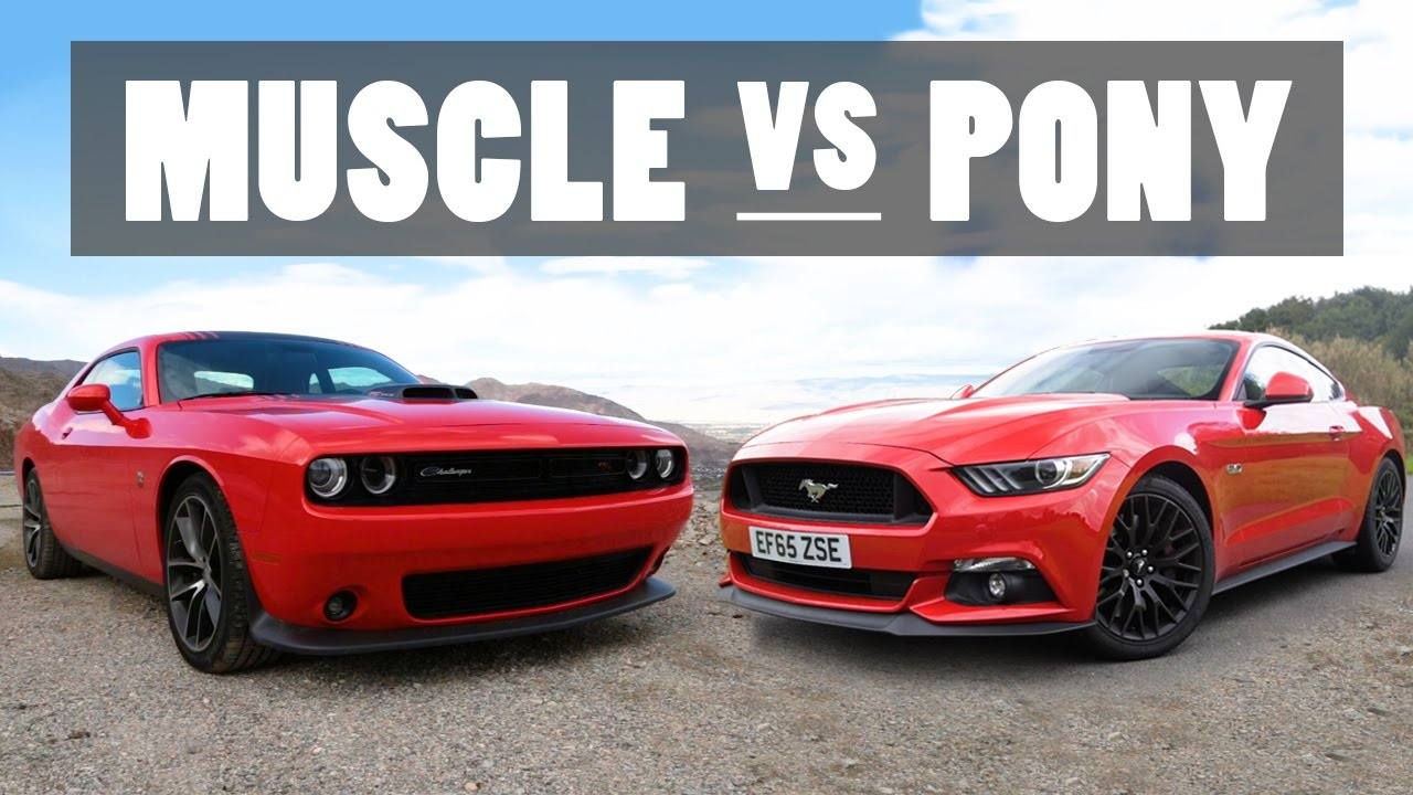 The Differences Between Muscle And Pony Cars - YouTube