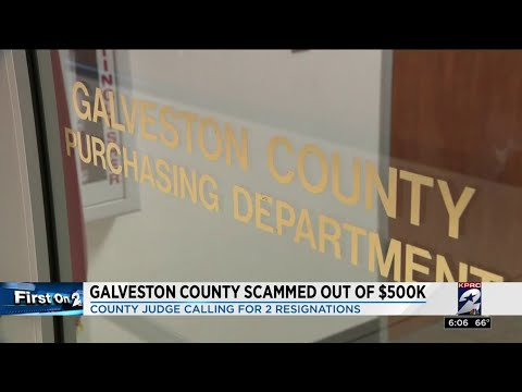 Galveston County scammed out of $500K