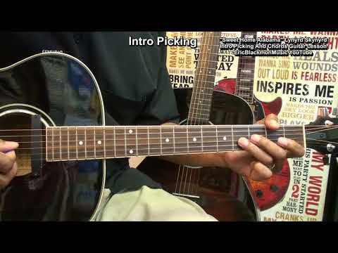 SWEET HOME ALABAMA  Lynyrd Skynyrd Guitar Lesson DETAILED & Updated EEMusicLIVE