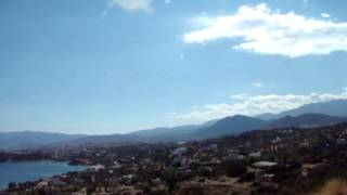Смотровая площадка на дороге Агиос (Айос) Николаос - Элунда.(Видео для блога: http://sergiisolodkyi.blogspot.com/, 2014-06-17T11:24:42.000Z)