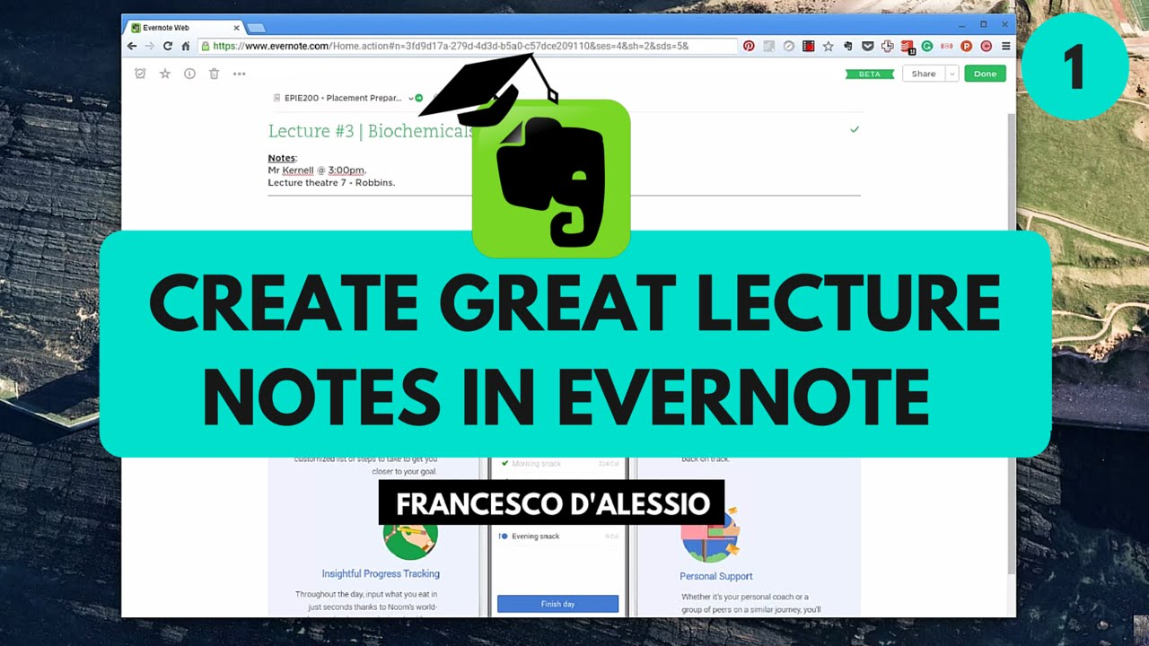 Create great lecture notes in Evernote | Evernote for Students (1)