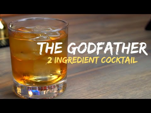 The Godfather Cocktail (Easiest Drink Ever?!)
