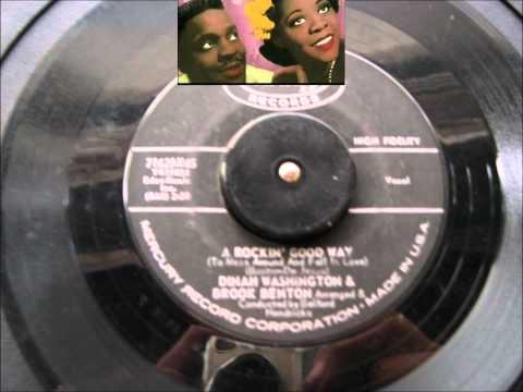 BROOK BENTON & DINAH WASHINGTON I BELIEVE MERCURY RECORD LABEL 71629
