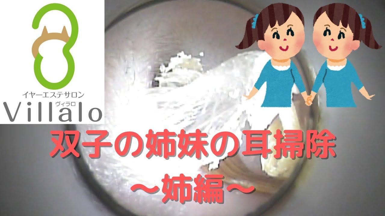 耳掃除動画vol.109「双子の姉妹の耳掃除~姉編~」