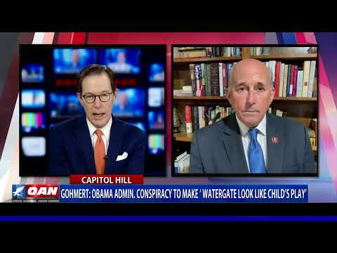 Rep. Gohmert says Obama admin. conspiracy to make 'Watergate look like child's play'