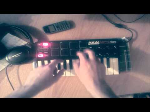 Live hip hop on AKAI MPK mini #3