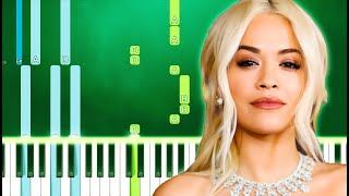 Rita Ora - How To Be Lonely (Piano Tutorial Easy)