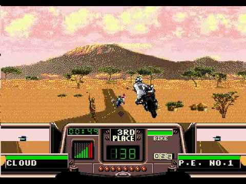 Road Rash 3: Tour de Force (Genesis) - Longplay