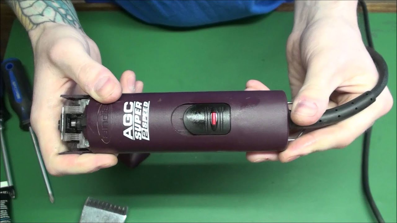 Andis AGC Super 2 Speed Clipper Blade Drive Replacement - YouTubeYouTube