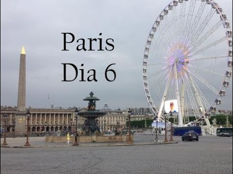 Canal de Nancy - Dia 6 ( Jardin du Luxembourg, Place de la Concorde, Churros Franceses )