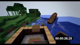 Minecraft Parkour #3 - scream szybszy niz nolif666? :O