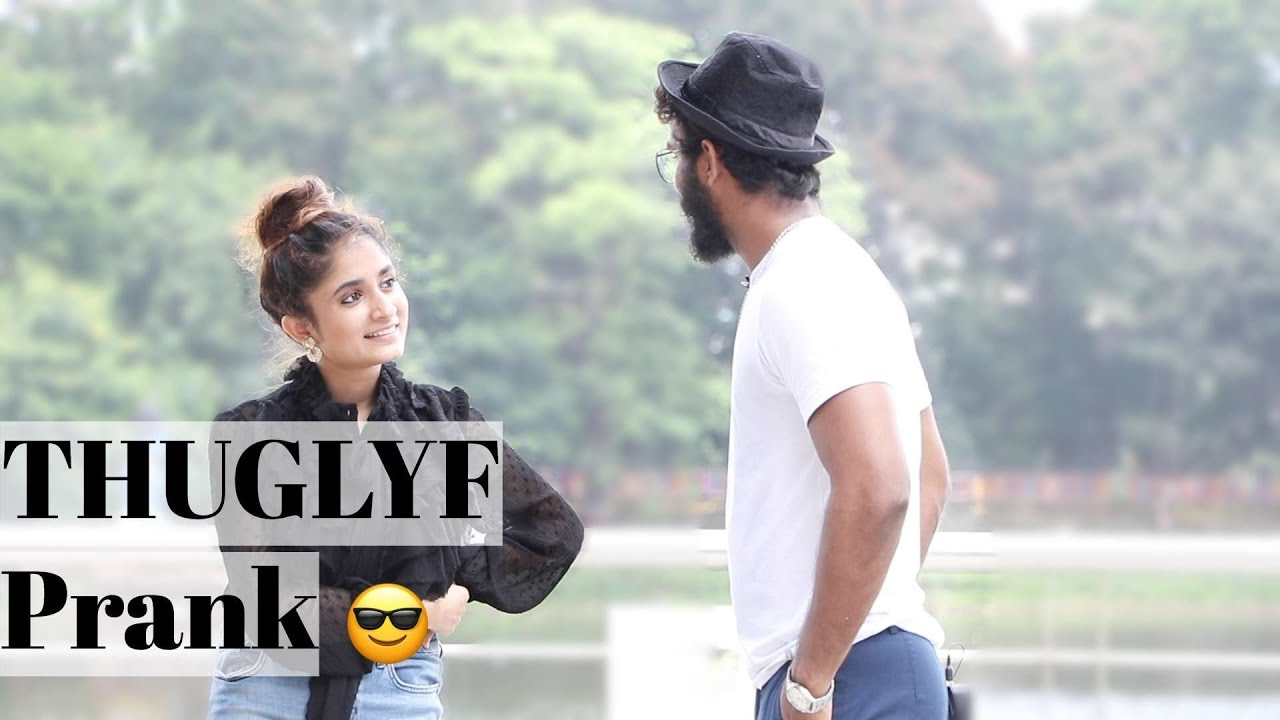 THUG LYF GIRL Vs AJ | Who won the match? | Oye It's Prank