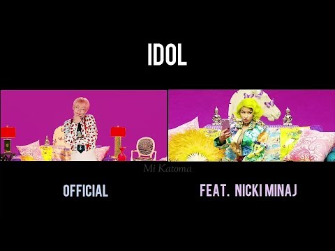 BTS - 'IDOL' Official Vs 'IDOL' Feat. Nicki Minaj