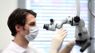 Лечение зубов под микроскопом стоматология Prestige Астана(Современная стоматология Prestige Астана предлагает своим пациентам : Современную методику лечения зубов..., 2014-04-06T19:39:34.000Z)