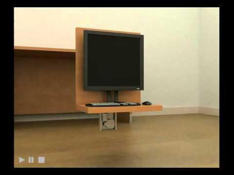 heritage hardware boston 460 tv lift youtube. Black Bedroom Furniture Sets. Home Design Ideas