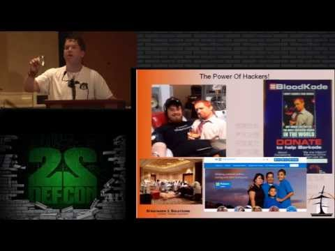 DEF CON 22 - Around the world in 80 cons - A Perspective