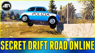 Forza Horizon 2 Online : SECRET DRIFT ROAD WITH AR12 ARMY!!! (Let