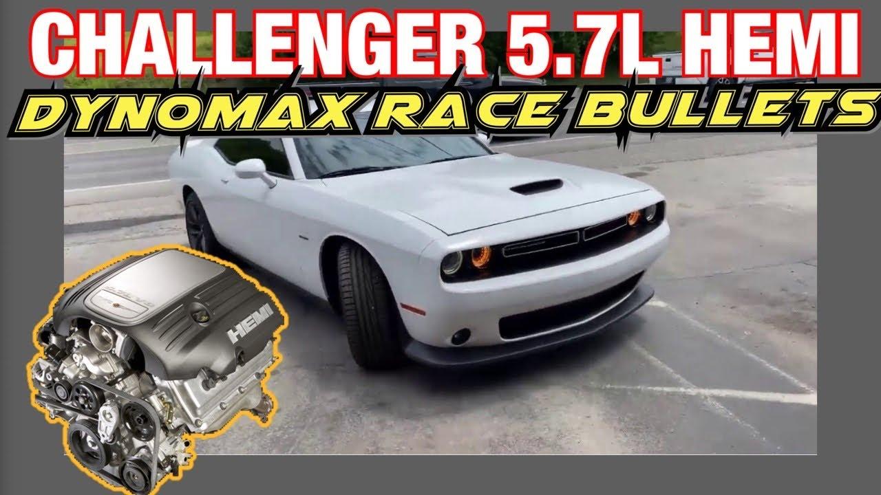 2019 Dodge Challenger RT HEMI DUAL EXHAUST w/ DYNOMAX RACE BULLETS!