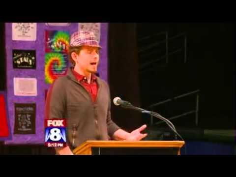 Project Love - Purple America Civility Challenge  - Fox 8 11-7-12