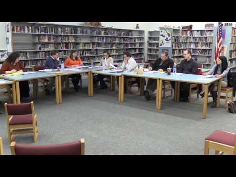 Winchester NH School Board Public Meeting 1-5-17