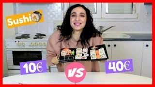 Δοκιμάζω Ακριβό & Φτηνό Sushi    Dodo